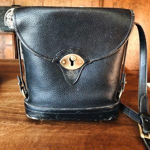 Dooney & Bourke Vintage 90s Black Spectator Bag